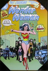 "DC Comics - Wonder Woman - Quit 13"" x 19"" Printed"