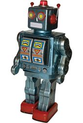 Robot 2008 Tin Toy