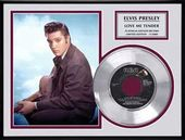 Elvis Presley - Love Me Tender - Framed Limited