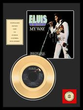 "Elvis Presley - My Way - Framed 12"" x 16"" Gold"