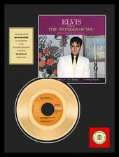 "Elvis Presley - The Wonder of You - Framed 12"" x"