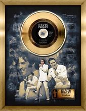 Elvis Presley - If I Can Dream - Framed Gold