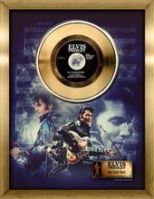 Elvis Presley - Blue Suede Shoes - Framed Gold