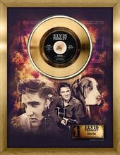 Elvis Presley - Hound Dog - Framed Gold 45RPM