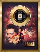 Elvis Presley - How Great Thou Art - Framed Gold