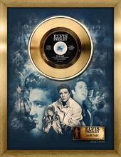 Elvis Presley - Love Me Tender - Framed Gold