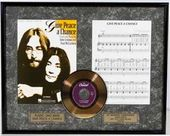 John Lennon - Give Peace A Chance - Framed
