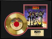 "KISS - Beth - Framed 12"" x 16"" Gold Record"