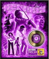 Jimi Hendrix - Purple Haze - Framed Limited