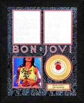 "Bon Jovi - Livin' On A Prayer: Framed 19""x25"""