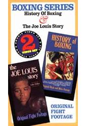 History of Boxing / The Joe Louis Story (2-VHS)