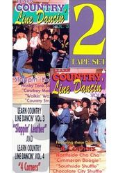 Learn Country Line Dancin', Volumes 3-4 (2-VHS)