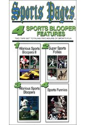 Sports Pages: 4 Sports Blooper Features (2-Tape