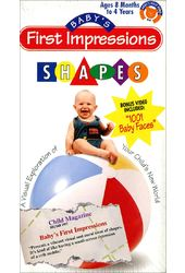Baby's First Impressions: Shapes (2-Tape Set)