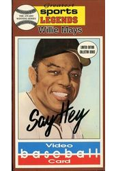 Baseball - Video Baseball Card: Willie Mays