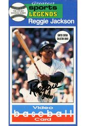 Baseball - Reggie Jackson: Video Baseball Card