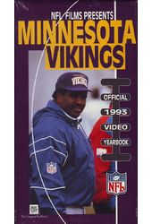 Football - Minnesota Vikings: Official 1993 Video