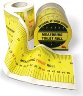 Funny Toilet Paper - Measuring Toilet Roll