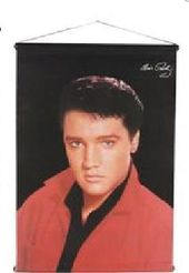 Elvis Presley - Red Jacket - Wall Scroll
