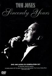 Tom Jones - Sincerely Yours (DVD & CD Box Set)
