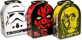 Star Wars - Head Shape Tin Carry All Set of 3