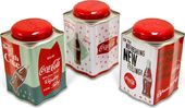 Coke - Tea Caddy Tin Set of 3