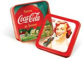 "Coca-Cola - Woman Drinking Coke: 6"" Square Window"