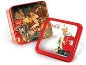 "Coca-Cola - Soda Shop Man: 6"" Square Window Tin"