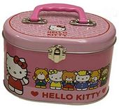 Hello Kitty - Friends - Tin Sewing Box Tote