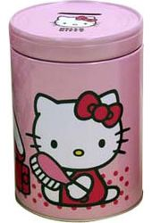 Hello Kitty - Round Coin Bank
