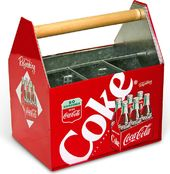Coke - Tin Utensil Caddy