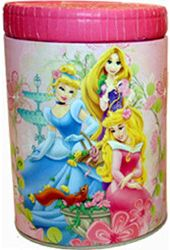 Disney - Princesses - Round Tin Coin Bank