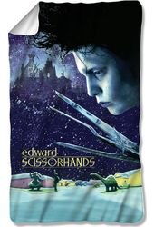 Edward Scissorhands - Movie Poster - Fleece