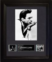 Johnny Cash - Framed Single Film Cell (Series 1)