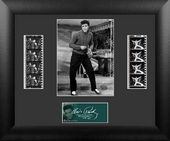 Elvis Presley - Framed Double Film Cell (Series 3)