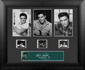 Elvis Presley - Framed 3 Cell Std Film Cell