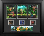 Disney - Tinker Bell - Framed 3 Std Film Cells