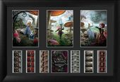 Alice In Wonderland - Framed Triple Film Cell