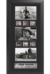 John Wayne - Framed Trio Film Cell (Series 1)