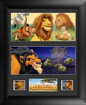 Disney - Lion King - Framed Double Film Cell