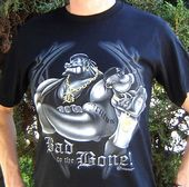Popeye - Bad To The Bone - T-Shirt