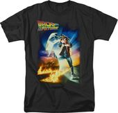 Back to the Future: Poster - T-Shirt