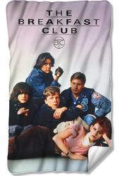 The Breakfast Club - Movie Poster Fleece Blanket