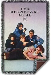 The Breakfast Club - Movie Poster Woven Throw