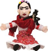 Frida Kahlo - Little Thinker Plush Doll