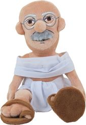 Mahatma Gandhi - Little Thinker Plush Doll