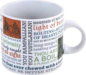 Shakespearean Insults - 12 oz. Ceramic Mug