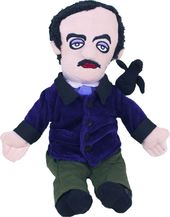 Edgar Allan Poe - Little Thinker Plush Doll