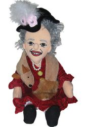 Eleanor Roosevelt - Little Thinker Plush Doll