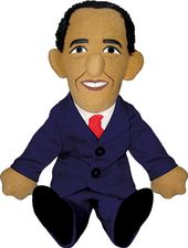 Barack Obama - Little Thinker Plush Doll